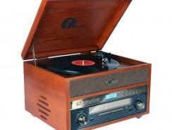 Choisir un tourne-disques en bois
